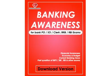 E-book of Disha Banking Awareness