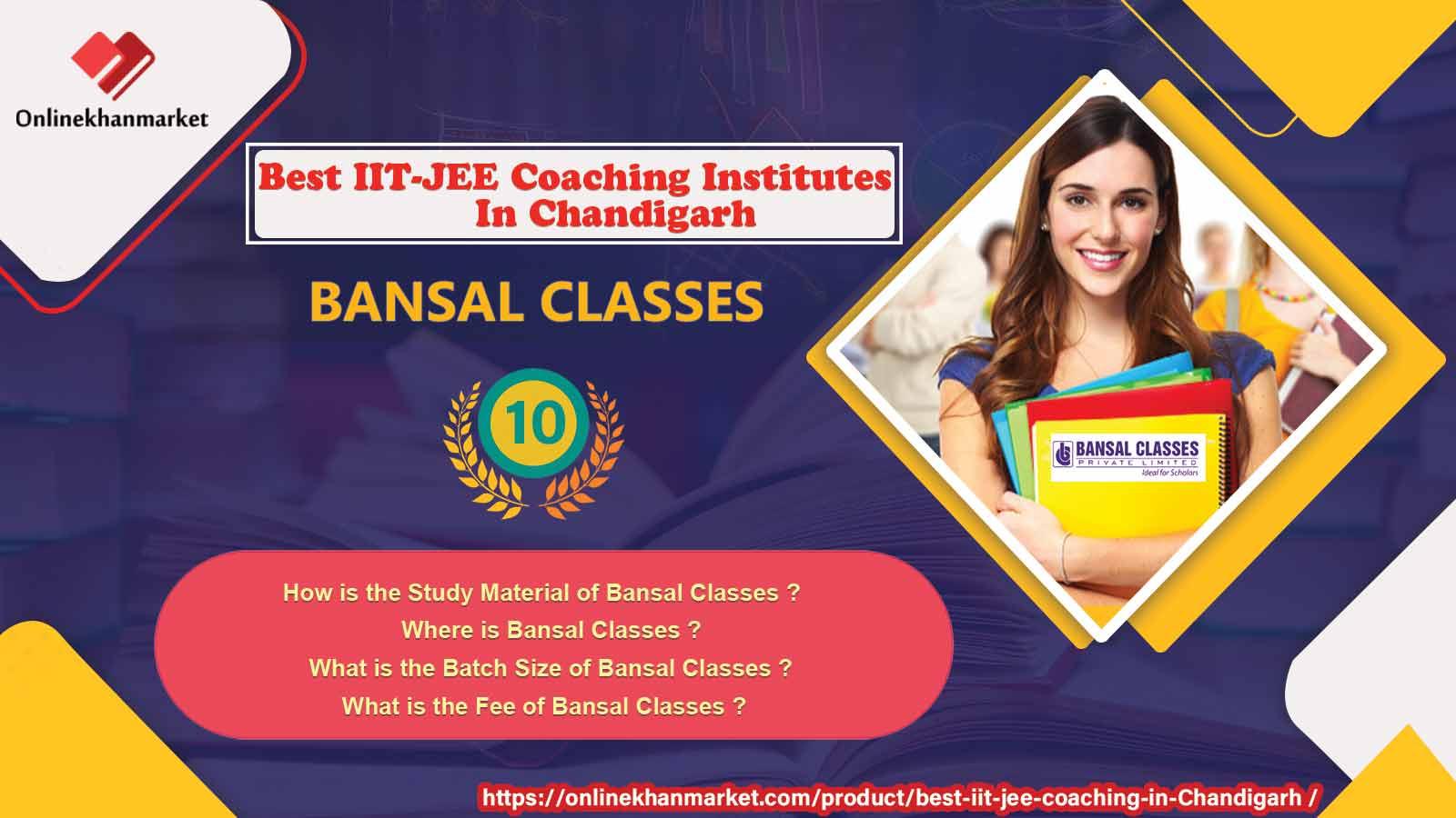 Top IIT Jee Coaching in Chandigarh