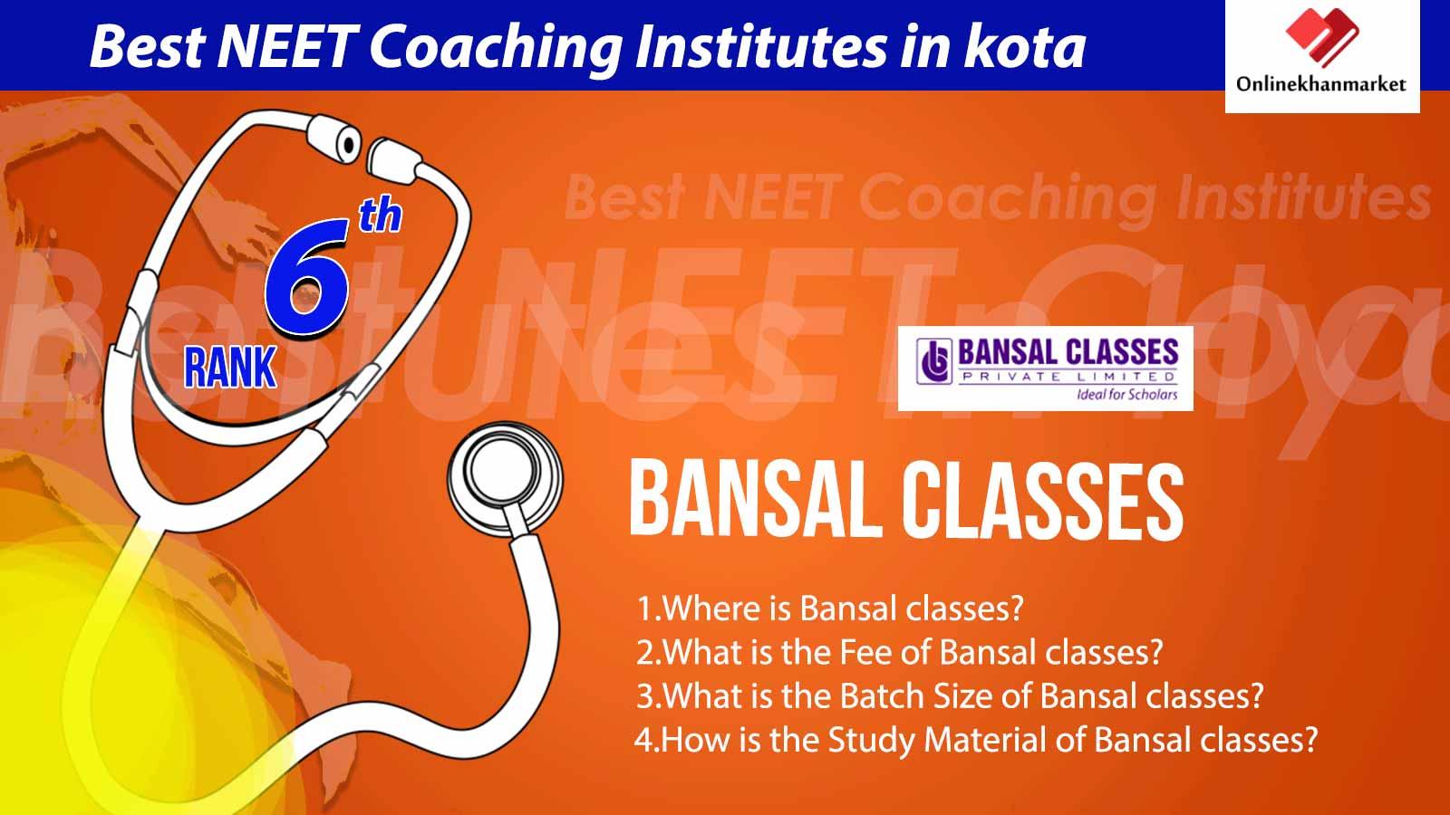 Top Neet Coaching in Kota