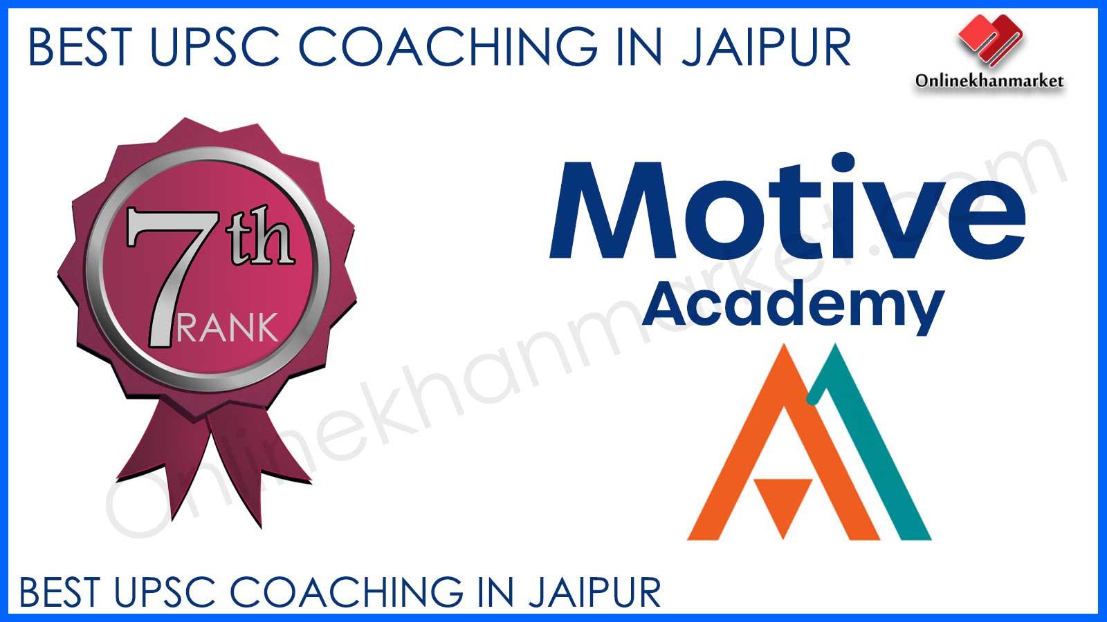 UPSC Coaching in Jaipur