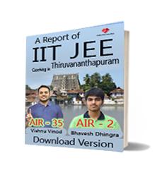 Download PDf notes of Best IIT JEE Engineering Exam Coaching in Thiruvananthapuram