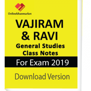 Ebook of Vajiram & Ravi General Studies Class Notes