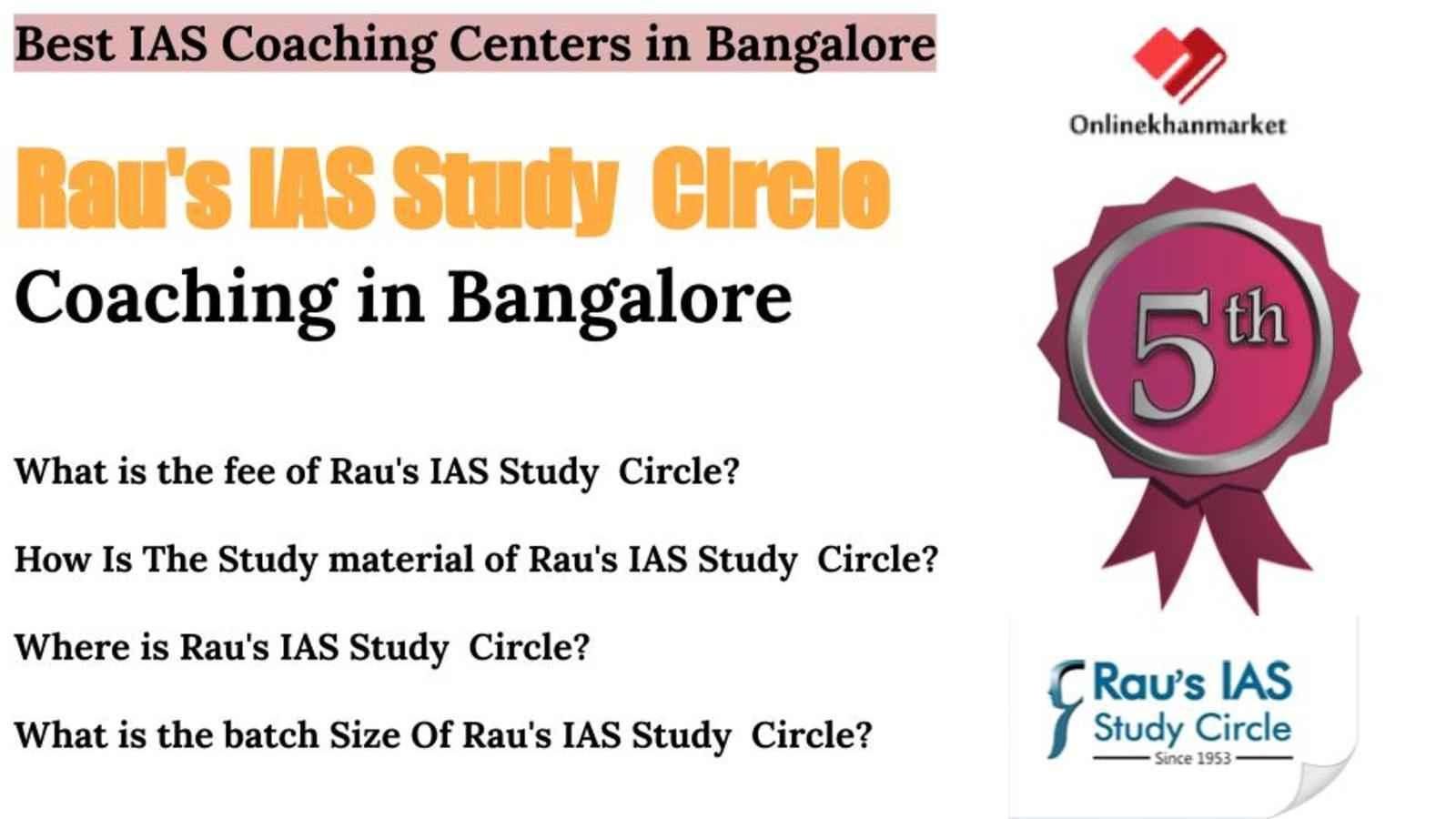 IAS Coaching in Bangalore