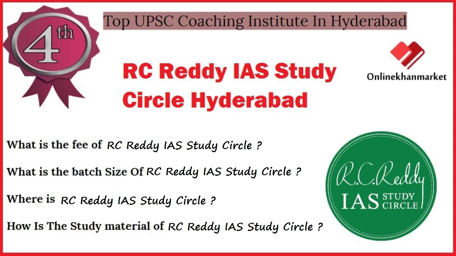 UPSC Coaching in Hyderabad