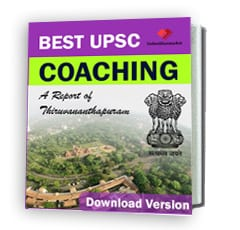 Best UPSC Coaching in Thiruvananthapuram Report