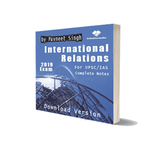 Ebook of International Relations by Pavneet Singh For UPSC IAS Complete Notes Download Version