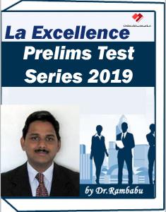 LA EXCELLENCE Test Series