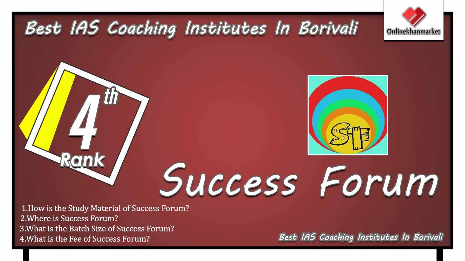 Best IAS Coaching in Borivali